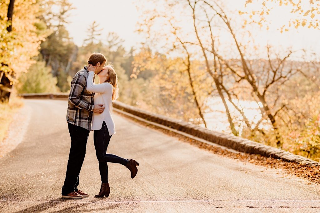 Autumn Interstate State Park Wisconsin Engagement Session